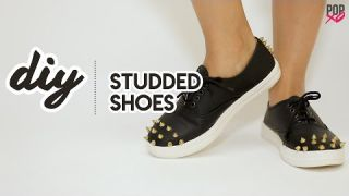 DIY Studded Shoes - POPxo Fashion